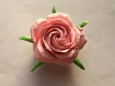 佐藤五瓣玫瑰折纸制作教程