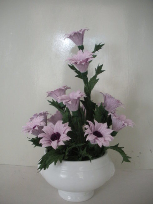 皱纹纸雏菊制作方法 第1步