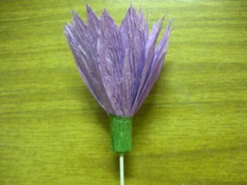 皱纹纸雏菊制作方法 第7步