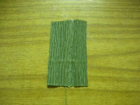 皱纹纸雏菊制作方法 第8步