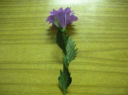 皱纹纸雏菊制作方法 第11步