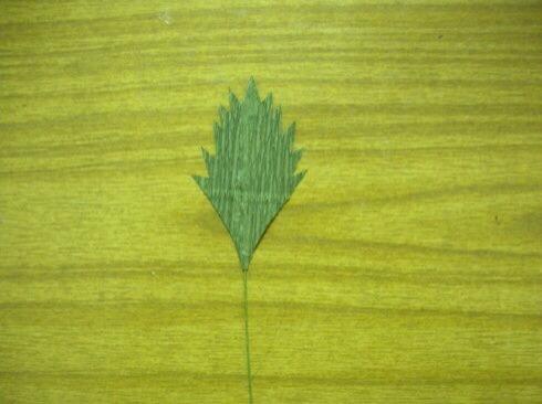 皱纹纸雏菊制作方法 第9步
