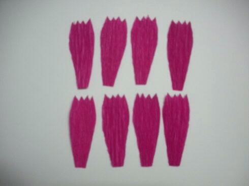 皱纹纸波斯菊制作方法 第1步