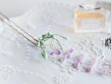 细工花簪之紫藤花