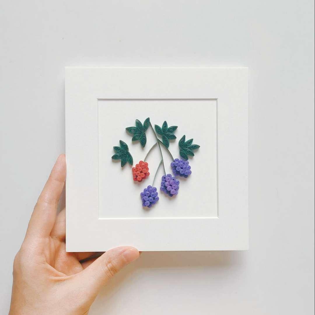 【衍纸🍻教程】黑莓🥧blackberry