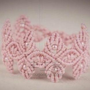 复古典雅的串珠手链编织教程