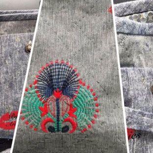 埃及系列刺绣包丨纸莎草托特包