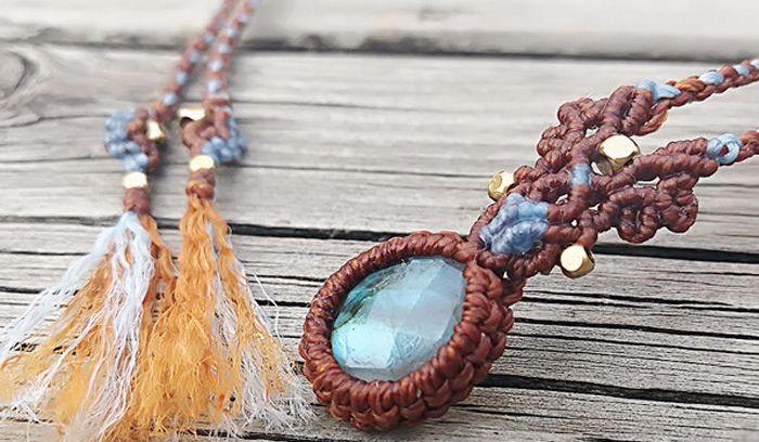 包石头的方法丨锁骨链