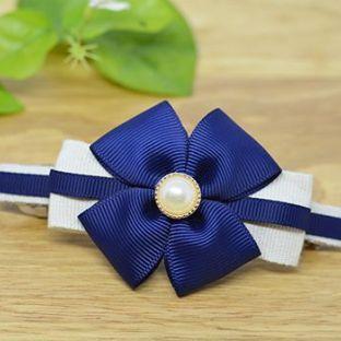 蓝色四叶草发饰教程