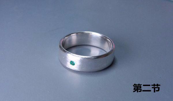 银戒指的制作
