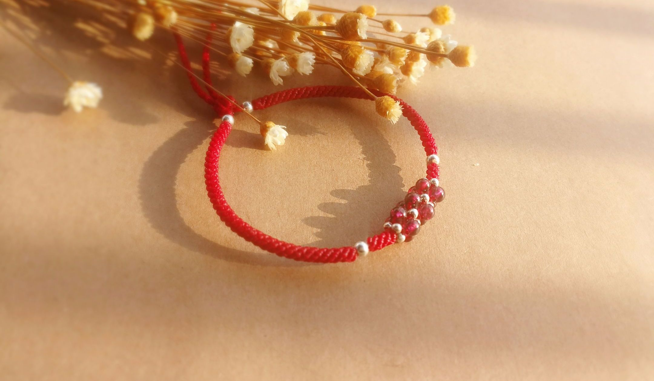 【红妆】零基础玉米结红手绳