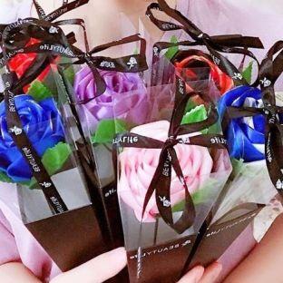 单支玫瑰花 母亲节情人节教师节DIY礼物