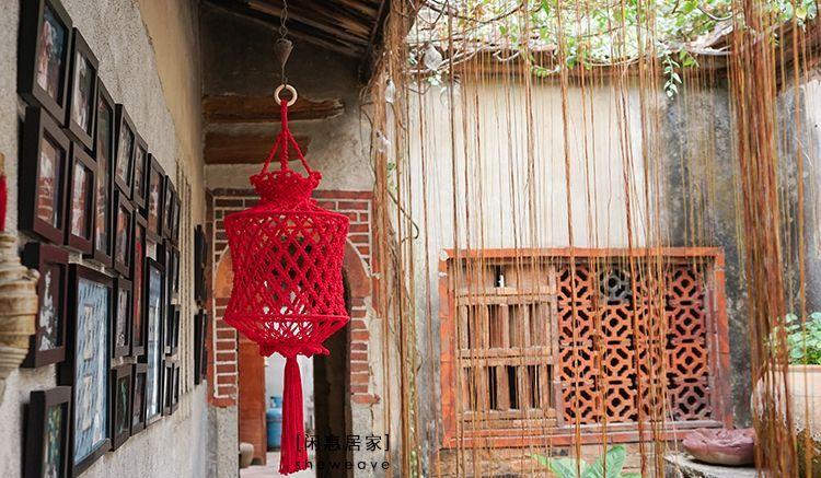视频教程 今年过年,用亲手编织的大红灯笼营造浓浓年味