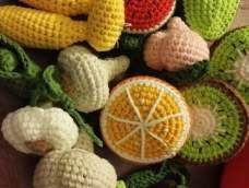 钩针作品-水果切切乐