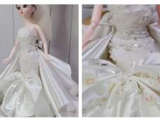 手作娃衣婚纱