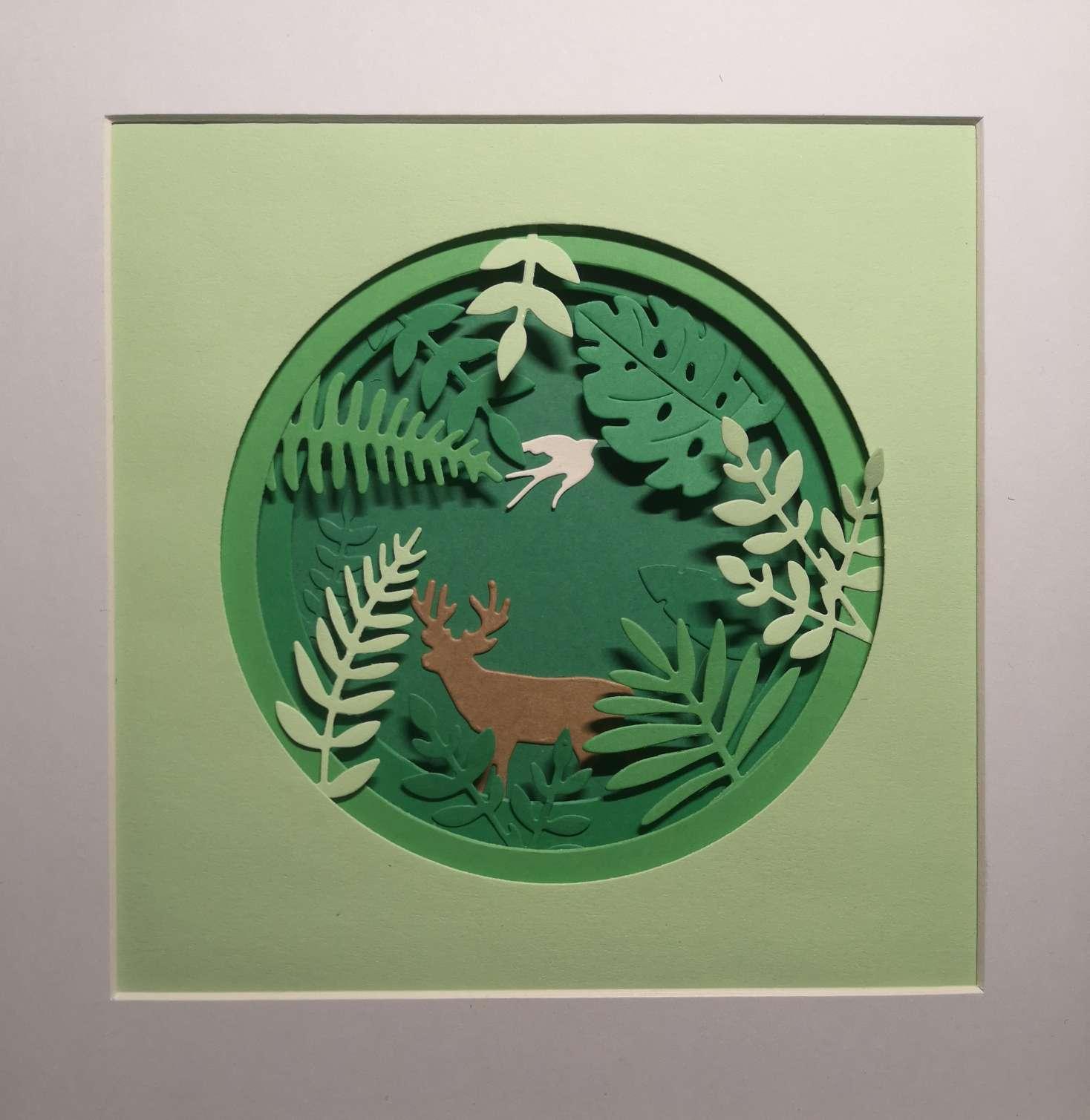 3.21是世界森林日,做一副装饰画吧