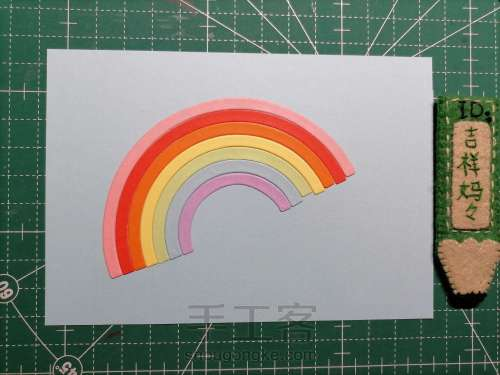 微笑日卡片 097 第3步