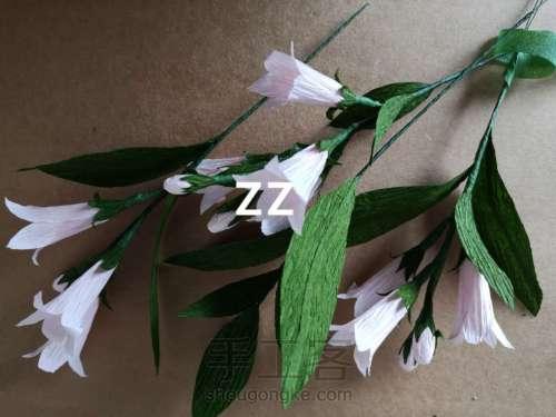 皱纹纸锦带花制作方法 第19步