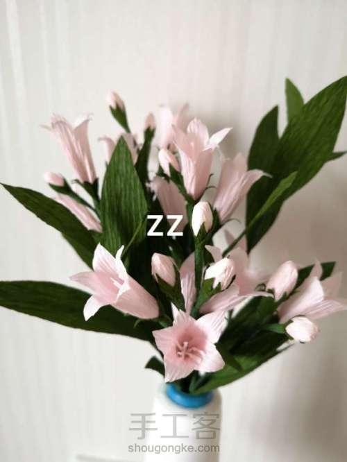 皱纹纸锦带花制作方法 第20步
