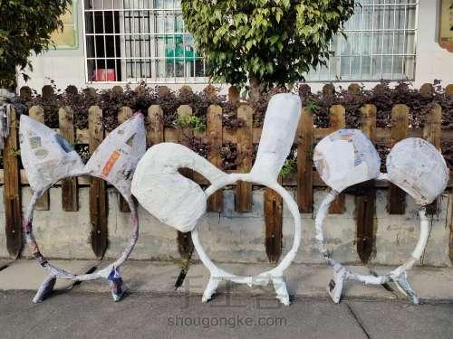 幼儿园废旧铁圈改造 第4步