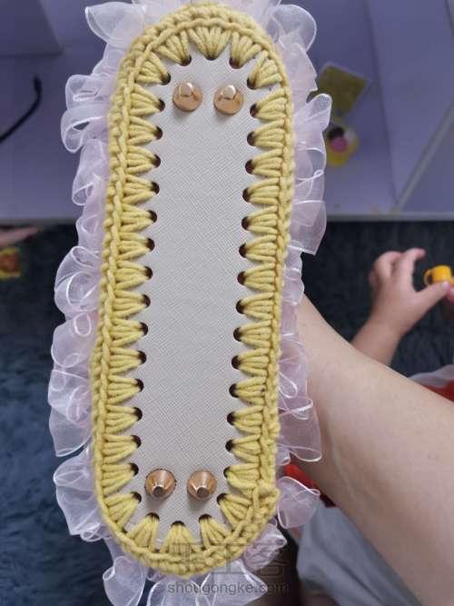 丝带钩织包包 第6步