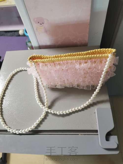 丝带钩织包包 第8步