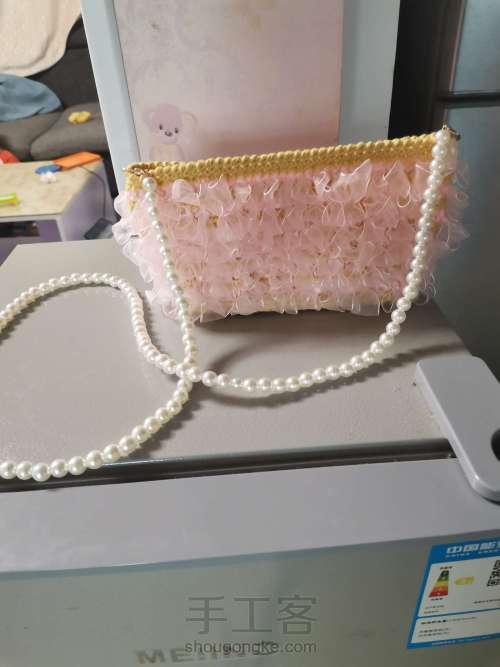 丝带钩织包包 第9步