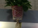 麻绳花盆网