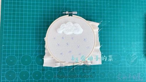 【原创】毛毡云与刺绣雪,一朵白云~一场雪 第3步