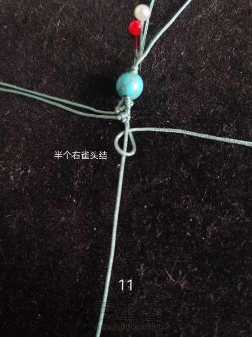 绳艺书签 第12步