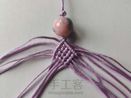 紫莲挂件 第3步