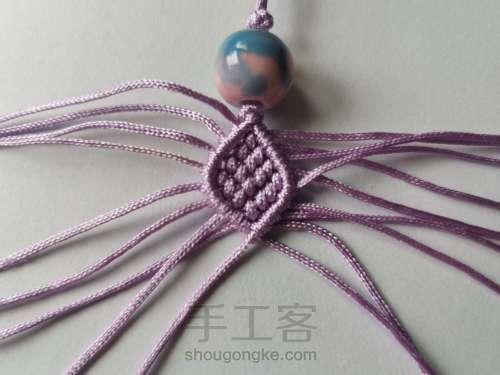 紫莲挂件 第4步