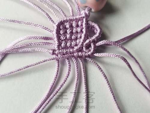 紫莲挂件 第7步