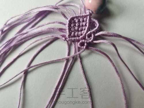紫莲挂件 第8步
