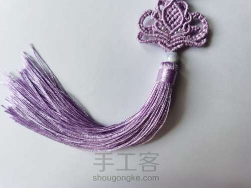 紫莲挂件 第14步