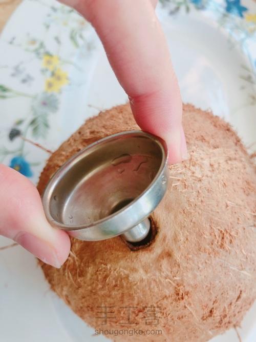 椰奶糯米饭 第1步
