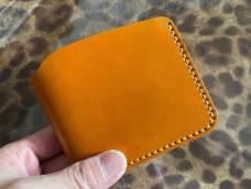 经典日式短夹付零钱袋制作教程 融本皮革