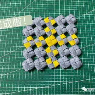 【手工编织】创意桌垫