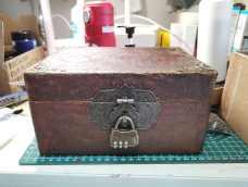 原创 废物改造成精致复古箱